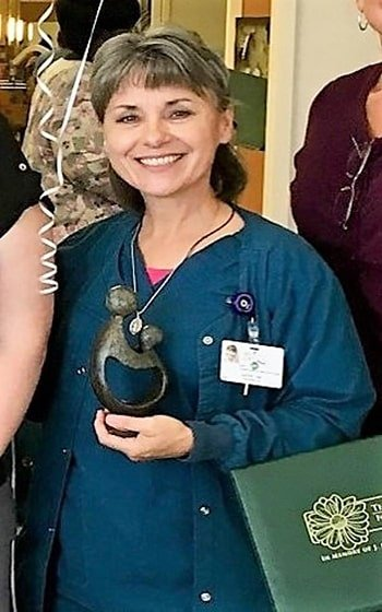 Kathy Friday - Daisy Awards - NRMC - Natchitoches Regional Medical Center