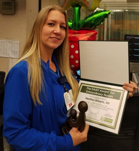 Heather Roberts - Daisy Awards - NRMC - Natchitoches Regional Medical Center