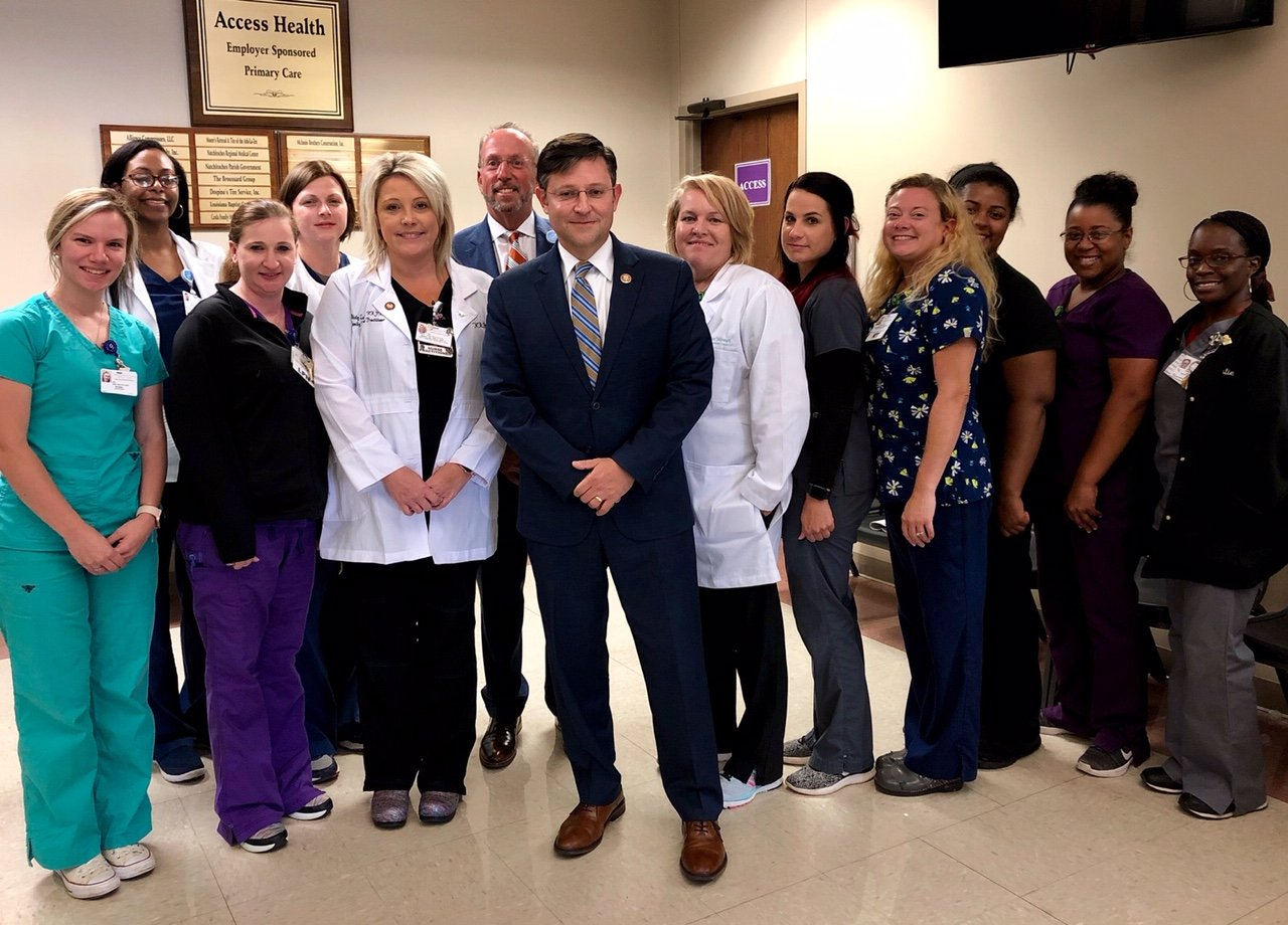NRMC Primary Care Clinic Recognized by Congressman Johnson as Exemplary