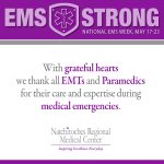 EMS STRONG! National EMS Week.
