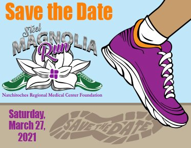 Steel Magnolia Run - Natchitoches, Louisiana - Annual Mammography